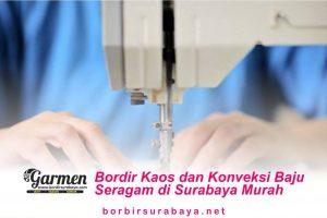 Bordir Kaos dan Konveksi Baju Seragam di Surabaya Murah