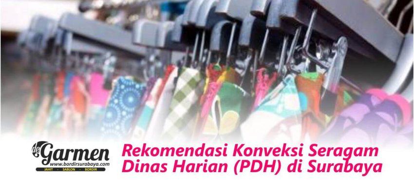 Rekomendasi Konveksi Seragam Dinas Harian (PDH) di Surabaya